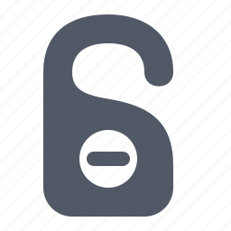 access, disturb, dnd, do, forbidden, not, sign icon
