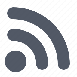 feed, internet, news, rss, sign, website icon