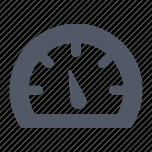 bandwidth, internet, measure, performance, speed, speedometer icon