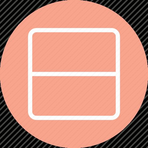 horizontal layout, minimal design, responsive layout, website design icon