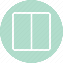 blog design, columns, responsive website, two columns, vertical columns icon