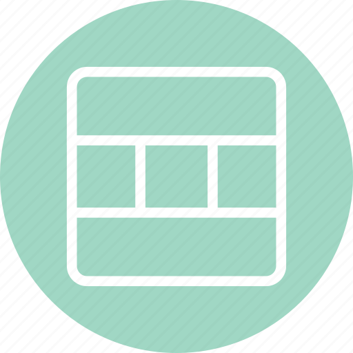 dashboard, responsive layout, web app icon