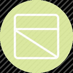 responsive layout, web design, website layout, website wireframe, window icon