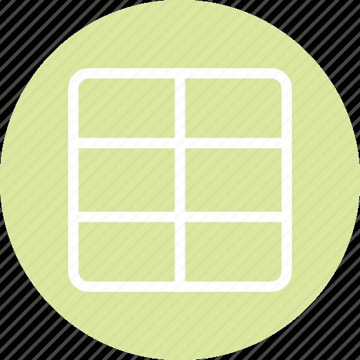 columns, grid, grid icon, responsive design, responsive page, web design icon