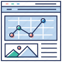 network, seo, sitemap, social network, web development, website project, website structure icon