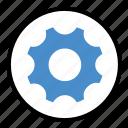 cog, edit, gear, settings, transmission icon