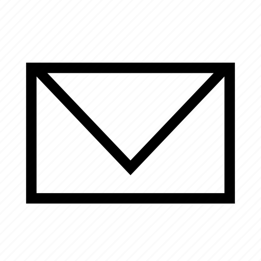 envelope, mail, message, send icon
