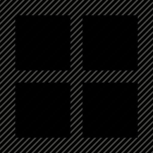 creative, grid, portfolio, website protfolio icon