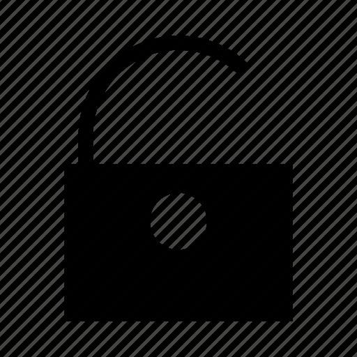 lock, password, protect, unlock icon