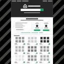 design, development, iconfinder, website icon