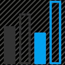 bar chart, data, data visualization, graph, report, sales, statistics icon