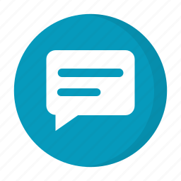 conversation, message icon