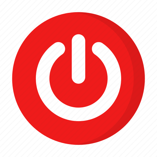 off, on, power, shutdown icon