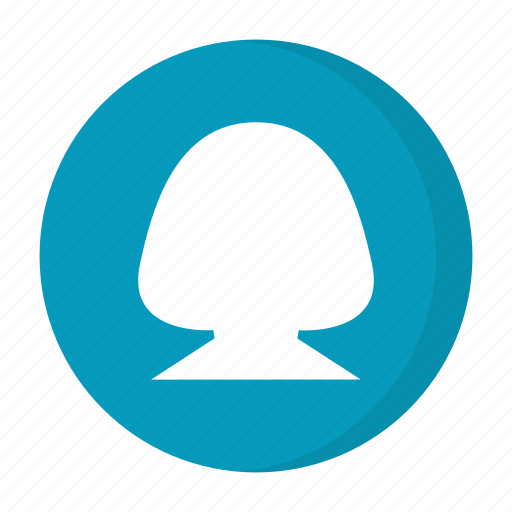 female, girl, person, profile, user, users icon