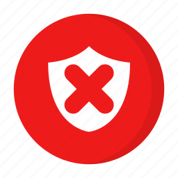 critical, error, problem, unsafe icon