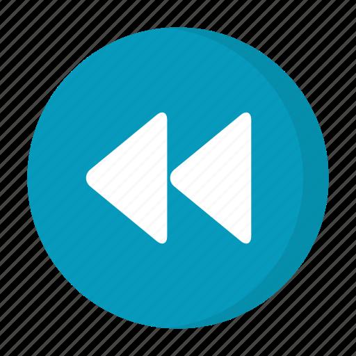 control, music, previous, track icon