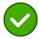 checkbox, success, confirm, approved, green, tick, check