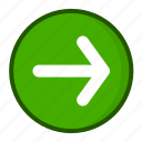 arrow, arrows, direction, forward, next icon