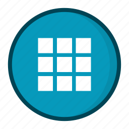 collection, gallery, grid, home, photo icon