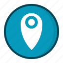 location, position icon