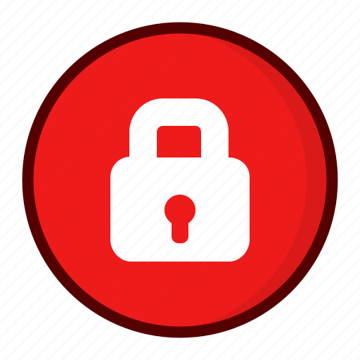 lock, locked, private icon