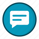 conversation, message icon