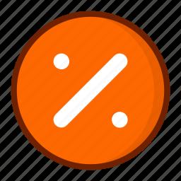 discount, math, precentage, price icon