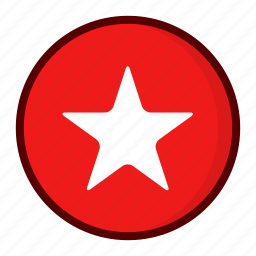 badge, favourite, star icon