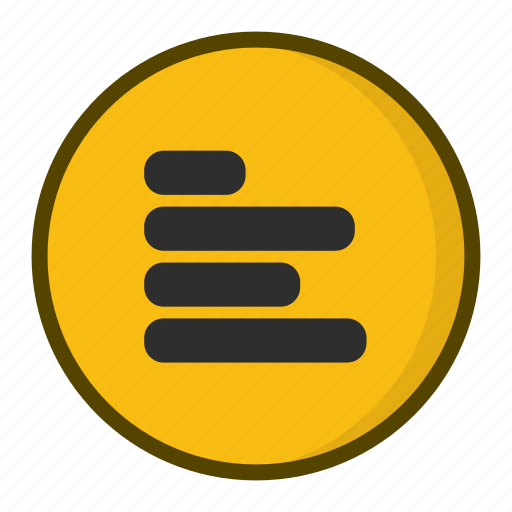 Alignment, left alignment, text alignment icon - Download on Iconfinder