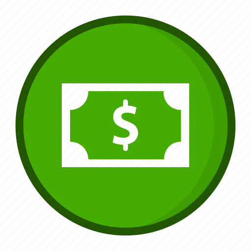cash, currency, doller, money icon