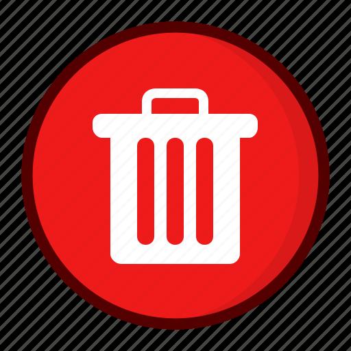 delete, dust bin, garbage, pan, recycle bin, remove icon
