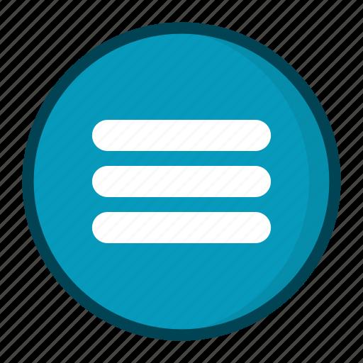 Menu, navigation icon - Download on Iconfinder on Iconfinder