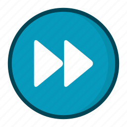 control, forward, music, next, player icon