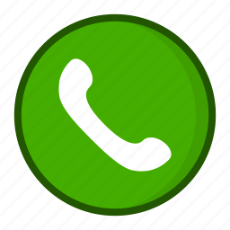 call, calling, phone, receiver icon