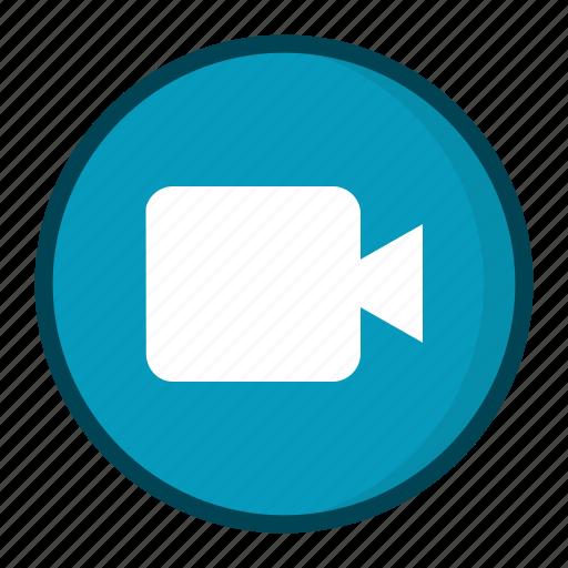 camera, movie, video camera, weby icon