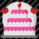 bakery, cake, cook, dessert, food, sweet, wedding icon