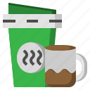 and, coffee, cup, food, restaurant, tea, time icon