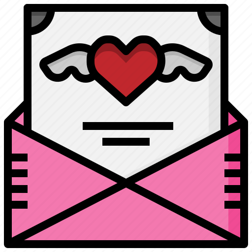 heart, invitation, love, romance, valentines, wedding icon
