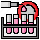 chemical, chemistry, education, science, test, tube, tubes icon
