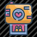 camera, heart, love, married, photo, valentines, wedding