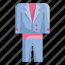 cloths, fashion, groom, love, suit, wedding icon