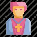 avatar, christian, man, pastor, people, priest, religious