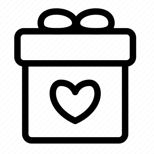 birthday, cart, ecommerce, gift, package, shopping icon