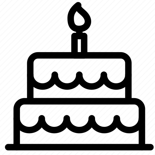 bakery, birthday, cake, heart, love, sweet, wedding icon