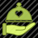 dish, dome, kitchen, love, marriage, restaurant, wedding