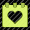 calendar, love, marriage, wedding