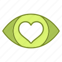 eye, heartlove, love, marriage, vision, wedding