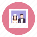 bide, groom, photo, photography, picture, polaroid, wedding