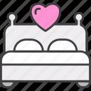 bed, honeymoon, love, romance, hotel, bedroom