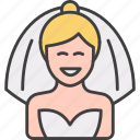 bride, wedding, marriage, woman, person